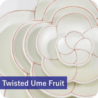 twisted ume fruit