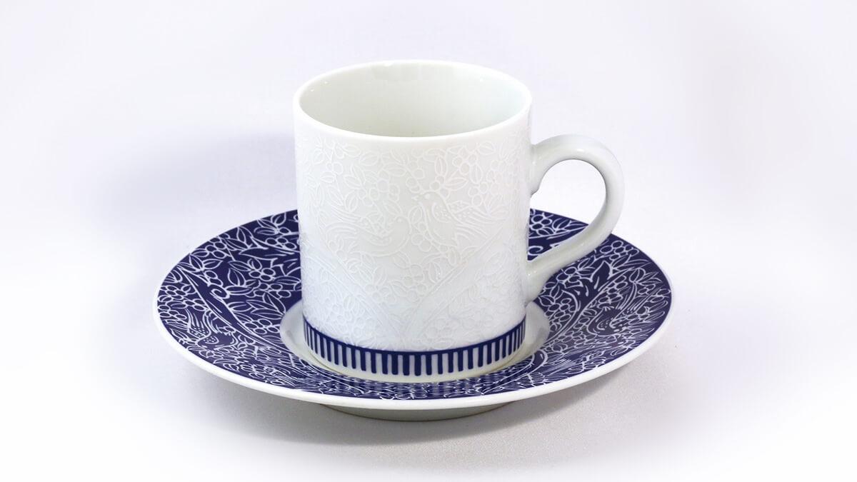 NESCAFE「香味焙煎」カップ&ソーサー
